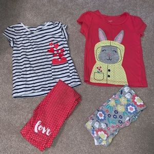 Springtime Carter's girls outfits 2T